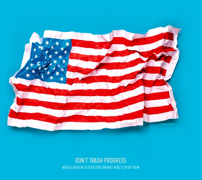 don't trash progress — by dan blackman 30reasons.org